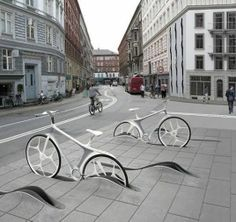 Denmark, Bicycle parking