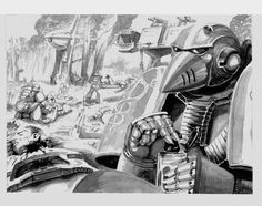 View the full album on Photobucket. Warhammer 40k Art, Warhammer 40k Miniatures, Warhammer Fantasy, Gundam Wallpapers, Angel Of Death, The Grim, Space Marine, Picture Collection, Rogues