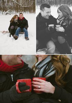 Winter engagement pictures @Nikki Odren !!!