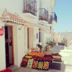 Photo by rebekahzoe.  Frigiliana. Andalusia. Spain