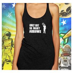 Walking Dead Daryl's Arrows Daryl Dixon Tank Top Walking Dead T-Shirt ($25) ❤ liked on Polyvore