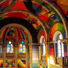 Iglesia Skate - Okuda San Miguel