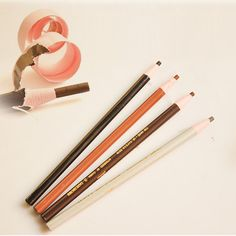 1 قطعة المهنية للماء الحاجب قلم الحواجب العين قلم الحواجب محسن الجمال الطبيعي مستحضرات المكياج أداة a2