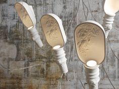 Lampada a sospensione a luce diretta in ceramica WORK IN PROGRESS | Lampada a sospensione - Karman