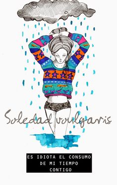 Soledad Voulgaris Playing Cards, Humor, Quotes, Movies, Movie Posters, Art, Rain Fall, Girly Things, Loneliness