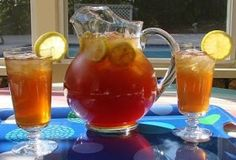 Sweet Tea recipe for 5 gallons (makes 1 gallon concentrate)