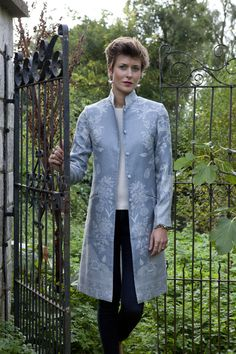 Nehru Coat in Wedgewood, Price £335.00