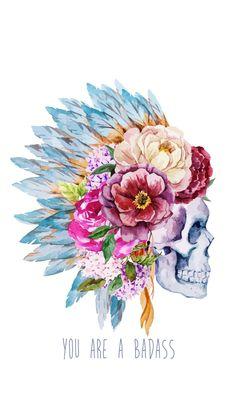Illustration about Beautiful vector illustration with watercolor ethnic skull. Illustration of headdress, costume, fashion - 51175870 Indian Skull, Headdress Tattoo, Image Digital, War Bonnet, Bull Skulls, Bull Skull Tattoos, 5d Diamond Painting, Future Tattoos, Skull Art