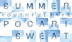 WATER FONT/poster, original font タイポグラフィ年鑑2013入選
