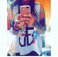 #suzansouza #suzansykes #dmtohm #bmthfan #olisykesaddicted #tattoogirl #olisykes #dropdead #countyourblessings #ddxss #sonicsega