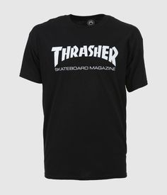 a8264b04b44c The Thrasher Skate Mag T-Shirt in Black is one of the most iconic  skateboarding t-shirts out there