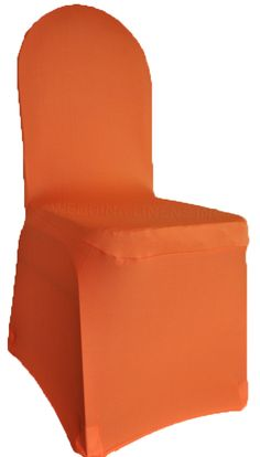 Spandex Banquet Chair Covers - Orange 62333 (1pc/pk)