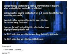 "And then went into more details about it. | 29 Times Tumblr Made ""Harry Potter"" Fans Cry All Over Again"
