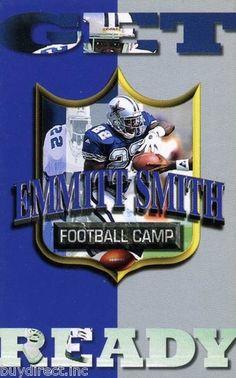 RARE 1994 CHRIS MARTIN GET READY MINI PROMO CARD EMMITT SMITH DALLAS COWBOYS