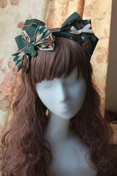 >> Click to Buy << Cotton Big Bow Coffee Lolita Headdress  Head Wear #Affiliate