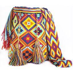 Loving this Chila Wayuu Bag by the Wayuu women