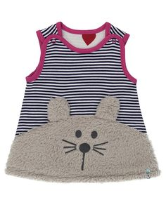 Bunny Face Reversible Pinafore