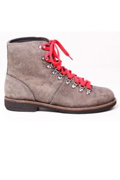 Bed Stu Cooper Red Lace Hiking Boots - Love the red laces!