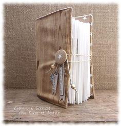 scrap et textile : boutique et blog: Tuto structure d'album par Scrapcat