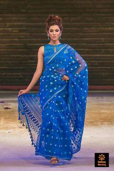 Traditional Jamdani Sarees..Available now at Maneeti..Whatsapp 9539820656