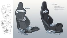 Transportation design, industrial design, engineering, aircraft and space industry, etc. Car Interior Sketch, Car Interior Design, Interior Design Sketches, Car Design Sketch, Interior Rendering, Interior Concept, Automotive Design, Car Sketch, Jeep Seats