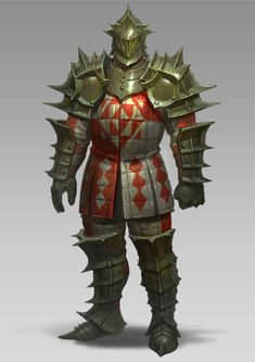 ArtStation - rose armor ver1.1, sueng hoon woo