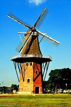 Windmill, Holambra, Brasil