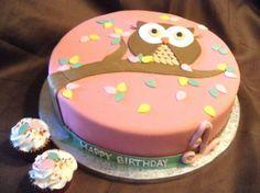 owl #cake so adorable!