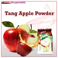 Jump-start your #morning with a refreshing glass of #Tang. Good source of calcium to help start your day right. Get on #NeedsTheSupermarket Online #Supermarket in Delhi NCR Tang #Apple Powder
