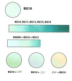 Copic Color Spotlight: BG10