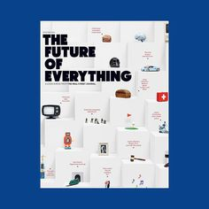 The Future of Everything   @wsj   Available Friday 11, December 2016   Editor in Chief: Stan Parish   Design Director: April Bell (@aprbell on Twitter)   Photo Director: Anais Maroon   Photography: @andrewbmyers   Set Designer: @sonnieson http://ift.tt/1OESepT