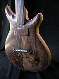 "William Jeffrey Jones ""Kronos"" fretless guitar"