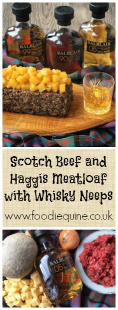 Haggis Meatloaf with Whisky Neeps - Scottish, Burns Night, St Andrews Day