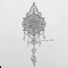 Mandala dream catcher for Gemma (all designs are subject to copyright. None are… More