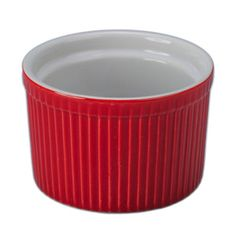 Tall Soufflé 10oz Red 4 Piece now featured on Fab.