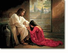 """Forgiven"" by Greg Olsen One of my Favorite pictures!  Through our Savior we can all be forgiven, if we but ask!"