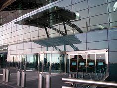 The Entrance Doors & Reflection of Shade Canopy   www.panora…   Flickr Shade Canopy, Entrance Doors, Reflection, Shades, Building, Outdoor Decor, Home Decor, Entry Doors, Entrance Gates
