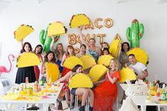 taco piñata workshop with looks like such FUN ! sure wish i lived closer to this crazy, kooky woman ! Mexican Birthday, 2nd Birthday, Birthday Parties, Birthday Ideas, Mexican Pinata, Dragons Love Tacos, Taco Party, Dragon Party, Trunk Or Treat