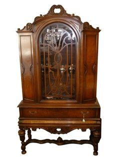 Antique china cabinet- I love mixing an old piece with more modern pieces. It adds an extra level of interest.