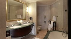 Jebel Ali Golf Resort and Spa Beach Resorts, Bathroom Lighting, Architects, Ali, Bathtub, Mirror, Projects, Furniture, Home Decor