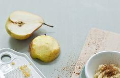 Recept uit Easy Peasy | Quinoa-appelpap met peer | Baby & Dreumes Eetfestijn