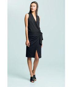 Natalie Busby Jersey Wrap Dress