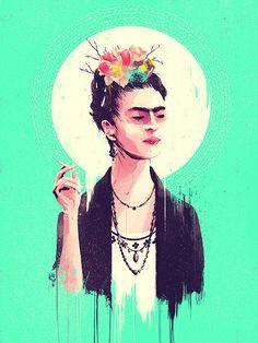 frida kahlo ilustraciones - Buscar con Google