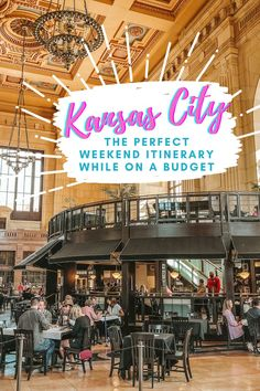Only have one day in Kansas City? Find out all the top sightseeing spots in this Missouri town | What to do in Kansas City | Kansas City 1-Day Guide | One Day Itinerary | Kansas City Missouri | Foodie Guide Kansas City | Kansas City Museums | Affordable Sights Weekend Trips, Weekend Getaways, Kansas City Museum, Road Trip Photography, Abandoned Warehouse, Rooftop Patio, Kansas City Missouri, Road Trip Essentials, Union Station