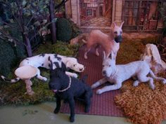 Great Danes..1/12 scale