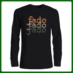 Idakoos - Fado repeat retro - Music - Long Sleeve T-Shirt - Retro shirts (*Amazon Partner-Link)