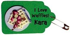 Girl Scout Waffle SWAP! Get the supplies on MakingFriends.com