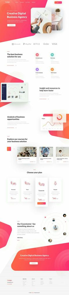 creative design, website themes, landing page design, design inspiration Design Sites, Web Design Examples, Web Design Projects, Web Ui Design, Web Design Trends, Page Design, Design Design, Creative Design, Layout Web
