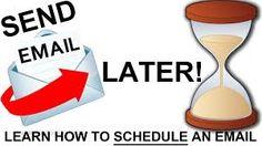 Tip #productividad: utiliza GMail Delay Send para envío programado de email