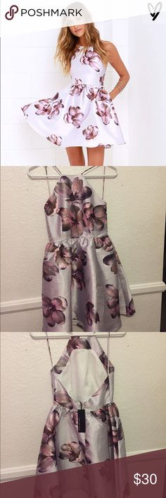 Brand new Lulu's dress Brand new with tags! Very cute dress size XS would be perfect for an evening out 🤗 Lulu's Dresses Mini